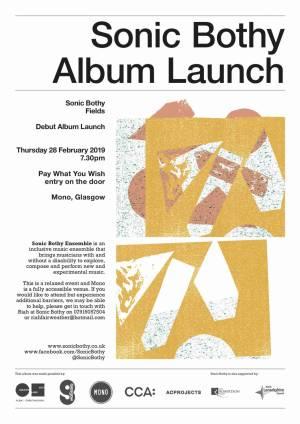 Sonic Bothy Album Launch Poster