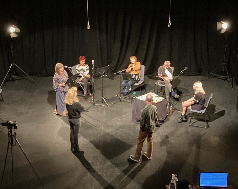 Night Vision filming day at CCA Glasgow